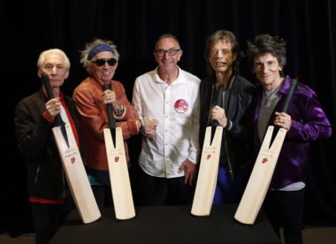 Rolling Stones release new cricket bat