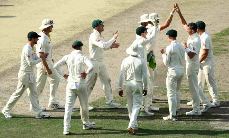 Siddle picked up Hafeezs wicket in the final session