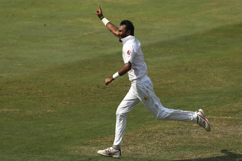 Pakistan off-spinner Bilal Asif took 6-36 on his Test debut