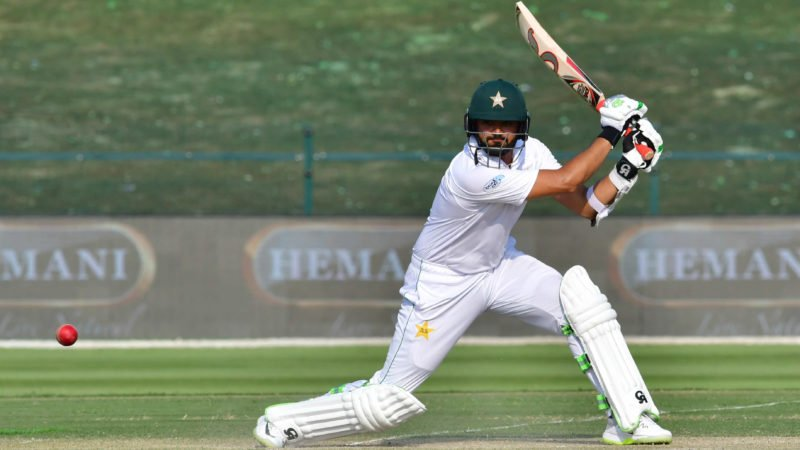 Azhar Ali ended the day on 54* as Pakistan went 281 runs ahead