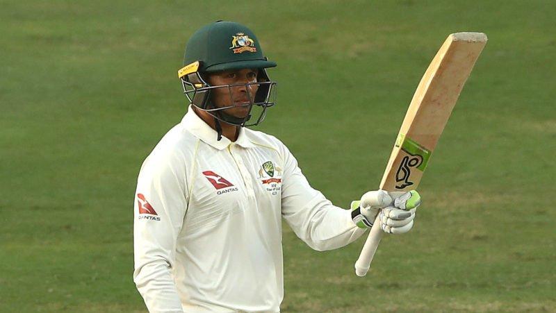 Khawaja has scored half-centuries in both innings
