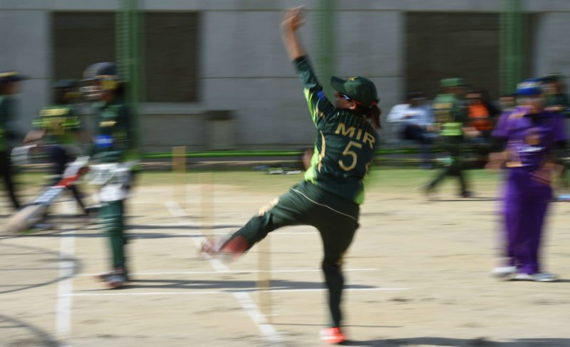 Sana Mir now has 136 wickets from 112 ODIs