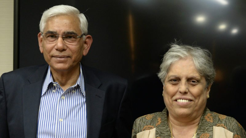 Rai and Edulji, the CoA members, differed on the course of action
