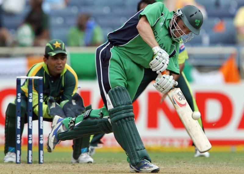 Niall O'Brien scored a match-winning 72 as Ireland upset Pakistan in the 2007 World Cup