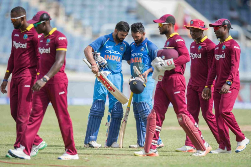 The two teams will play a five-ODI series after the Tests