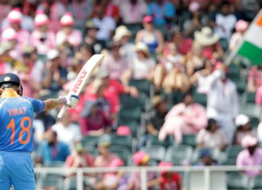 Virat Kohli becomes first Indian to hit three ODI centuries in a row
