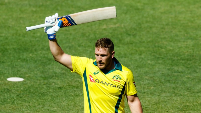 Finch is one of the most destructive batsmen in white-ball cricket