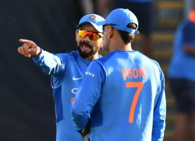 Dhoni T20I axe meant to 'help the youngsters', says Kohli