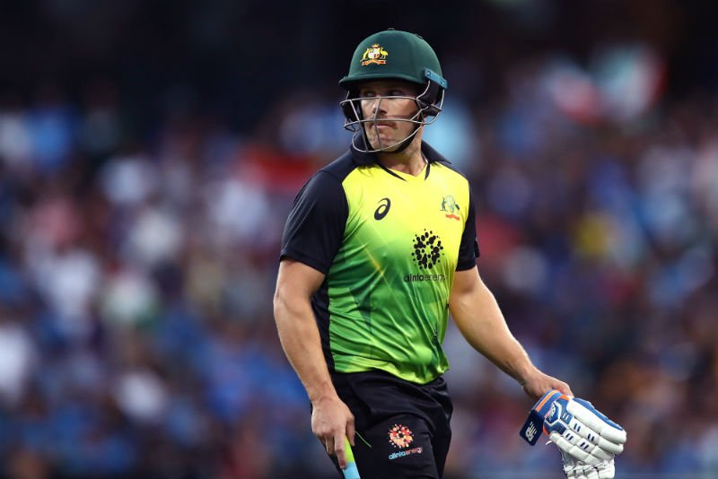 Aaron Finch will captain the T20I Team of the Decade