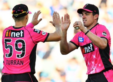 Bizarre seven-ball over sparks controversy in BBL game