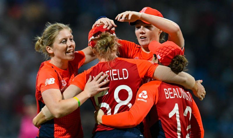 England Women will face South Africa, a qualifier, Pakistan and Windies in the group stage