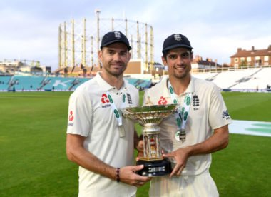 Cook, Anderson take Wisden Cricketers' Almanack 2019 cover