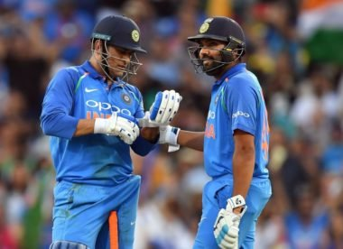 Rohit: 'Dhoni batting at No. 4 will be ideal for the team'