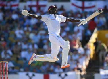 Jason Holder makes the most of his long-awaited day in the sun