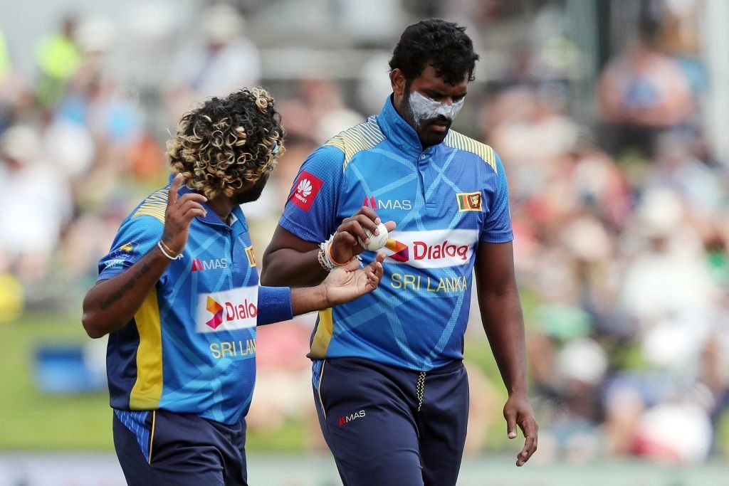 Tensions between Lasith Malinga and Thisara Perera?