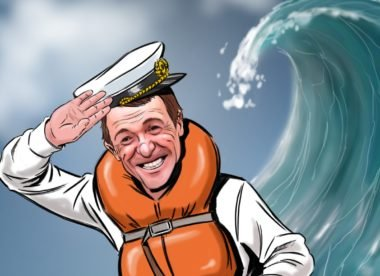 Cricket & I: Phil Tufnell on stormy seas and circling sharks