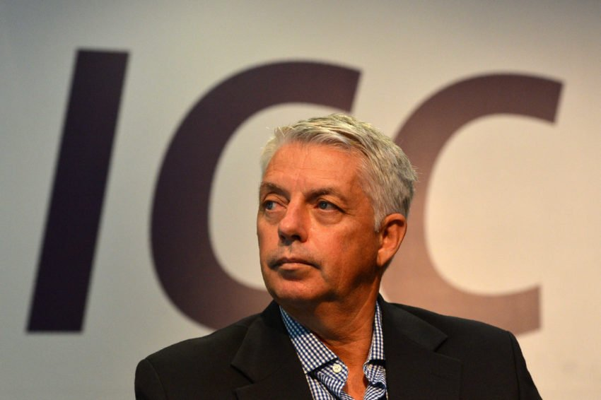 ICC chief executive David Richardson remained optimistic that the World Cup would go on as scheduled
