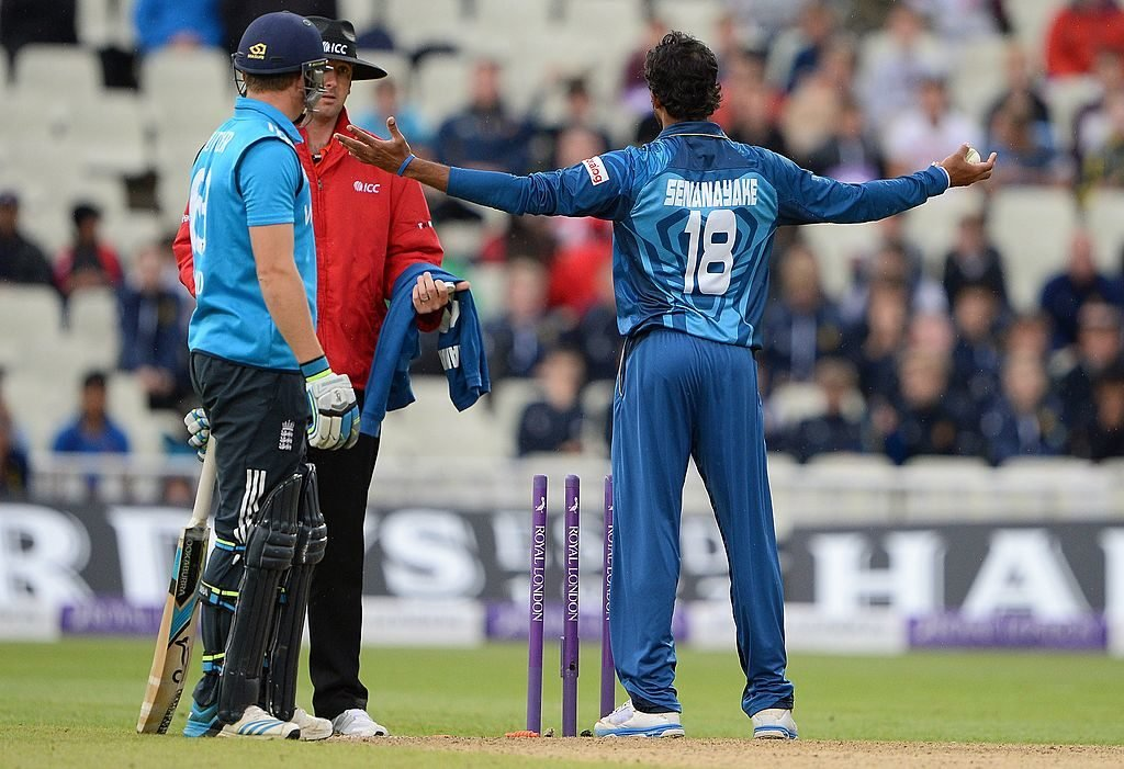 Jos Buttler was infamously Mankaded by Sachithra Senanayake in 2014