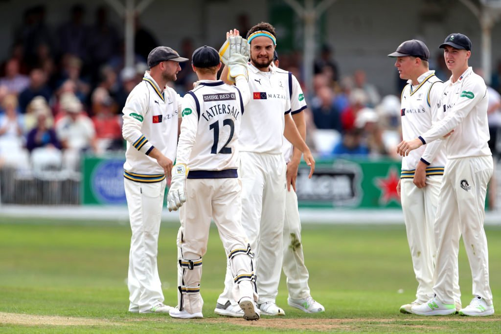 Shirt numbers are already in use in first-class cricket in England and Australia