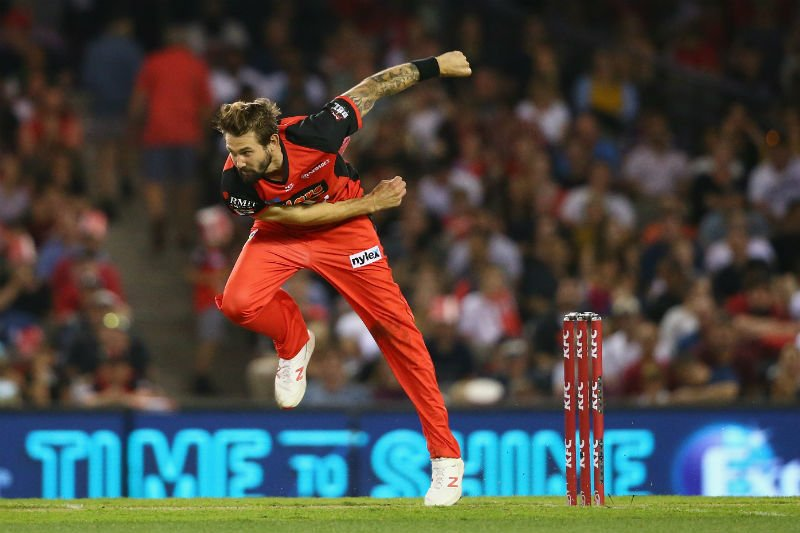 Kane Richardson was the leading wicket-taker in the BBL 2018-19 with 24 wickets