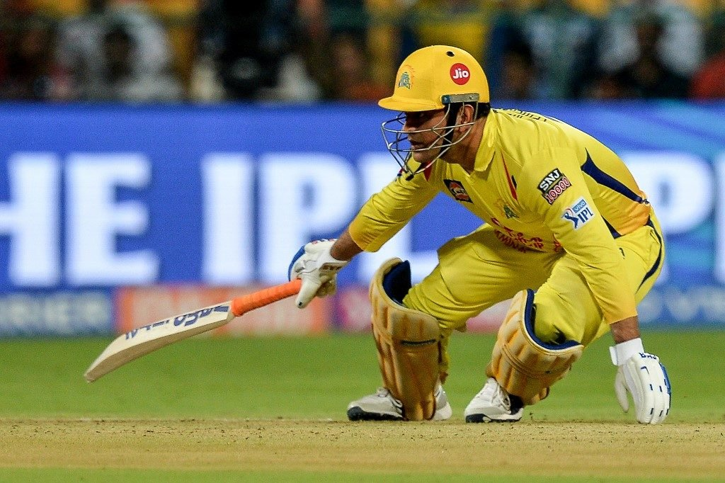 MS Dhoni nearly pulled off a trademark chase