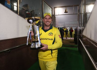 'My most consistent series' – Aaron Finch buoyed by Pakistan success