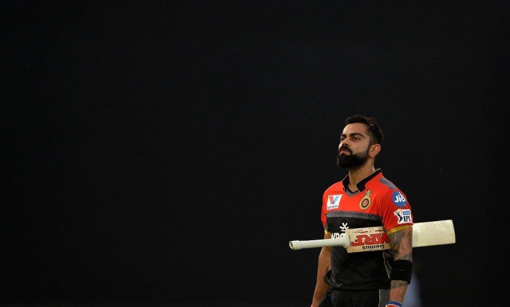 Virat Kohli is not impressed ...