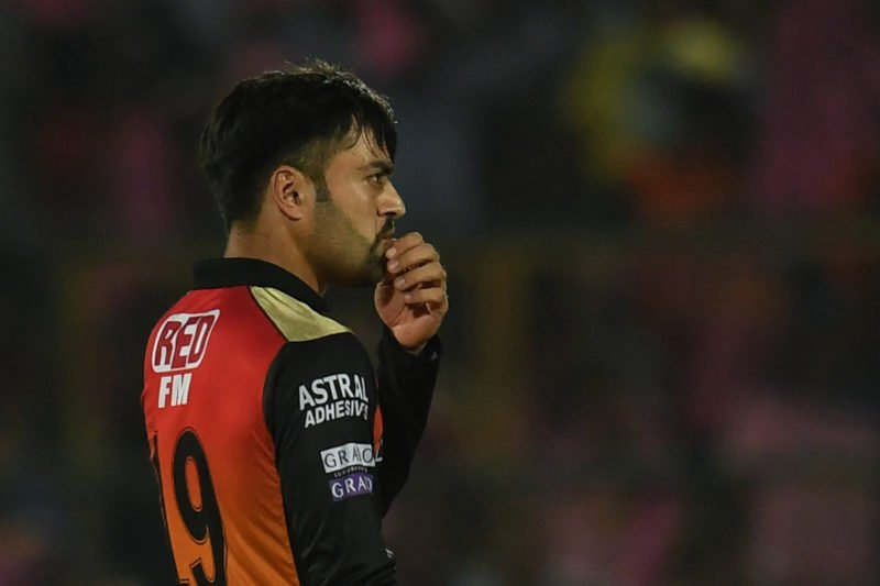 Ace spinner Rashid Khan leaked 44 runs from his four overs, claiming only one wicket