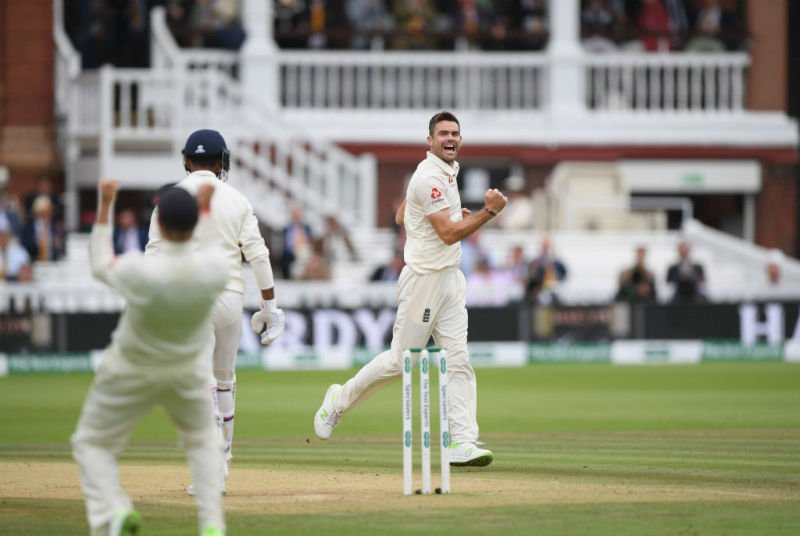 James Anderson has enjoyed tremendous success with this variety of the Dukes ball