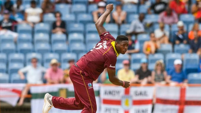 West Indies seamer Oshane Thomas recovering after motor accident in Jamaica