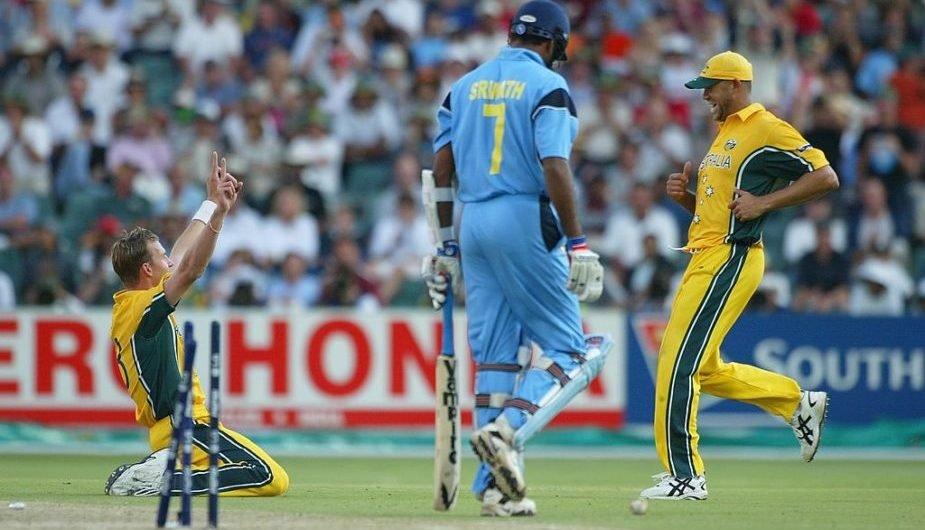 My Favourite Cwc Game Australia V India Final 2003 Wisden