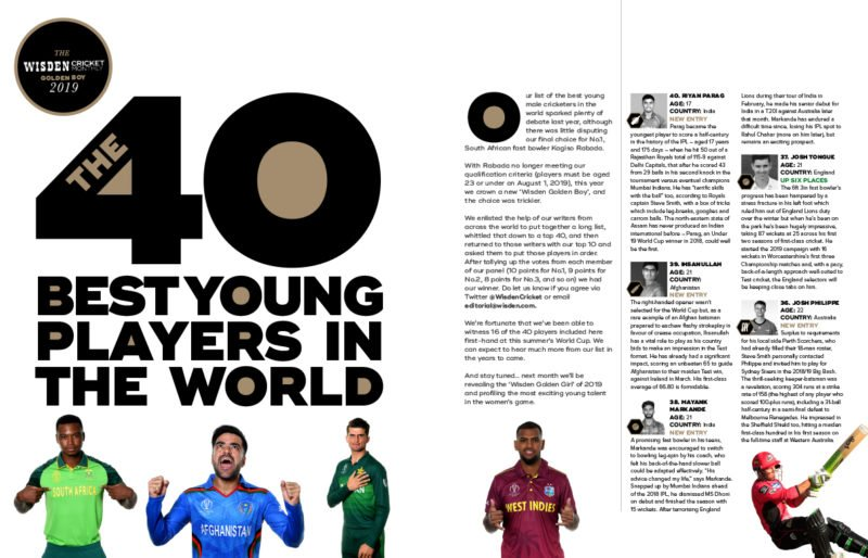 Best youngsters