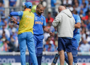 Shikhar Dhawan ruled out of India's World Cup campaign