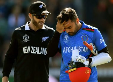 Bouncer leaves Rashid Khan with concussion scare