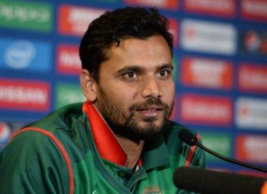'Bangladesh must stay calm after strong start' – Mashrafe Mortaza