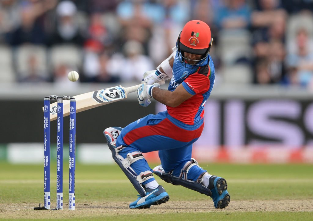 The Afghanistan batsmen were peppered with short balls