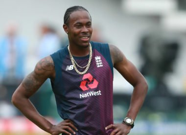 Jofra Archer named in England squad for first Ashes Test