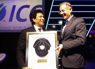 Tendulkar, Donald & Fitzpatrick inducted into ICC Hall of Fame