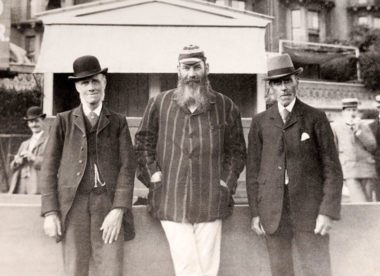 WG Grace: The man who wanted to play forever – Almanack