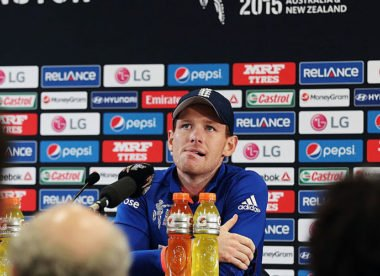 Morgan says 2015 World Cup defeat to New Zealand was 'rock bottom'