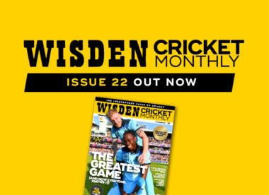 Wisden Cricket Monthly issue 22: World Cup souvenir issue