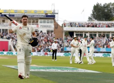 Burns reveals interaction with 2005 Ashes heroes as inspiration for maiden ton