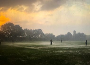 Bedfordshire club cricketers brave rain, heat & fire to chase world record
