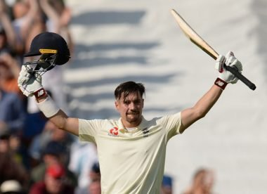 Rory Burns with a century for the romantics