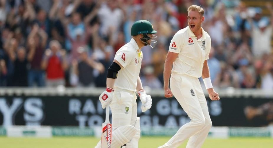 Quiz! Name all the Australians dismissed by Stuart Broad
