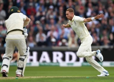 Forever second fiddle, Stuart Broad keeps banging out his tune