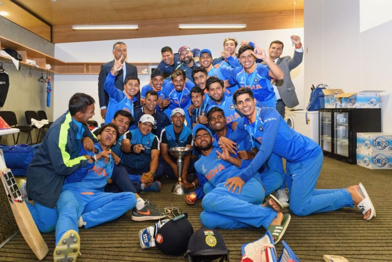 Rahul Dravid was the head coach of the 2018 Under-19 World Cup-winning India side