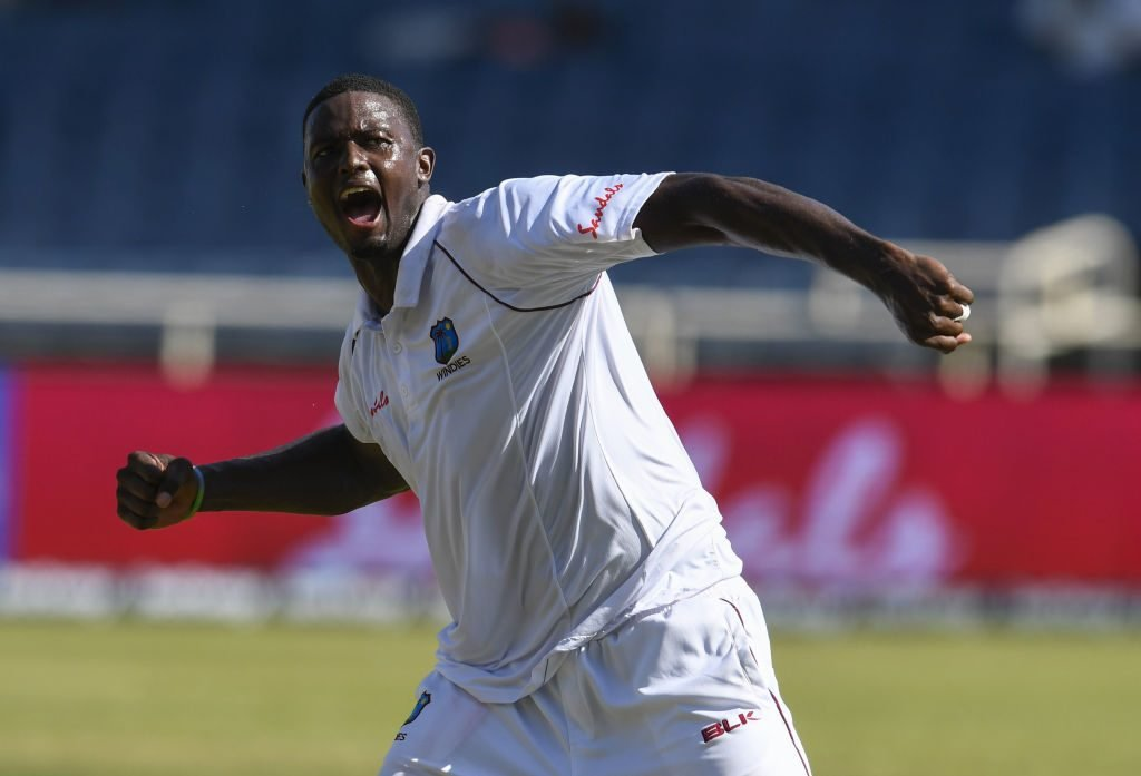 Jason Holder led from the front for West Indies