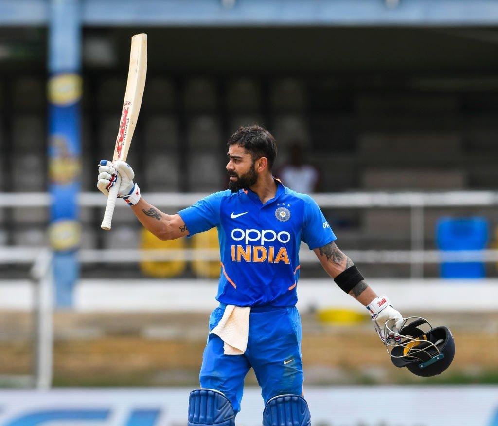 Virat Kohli went past Sourav Ganguly among Indian ODI run-scorers