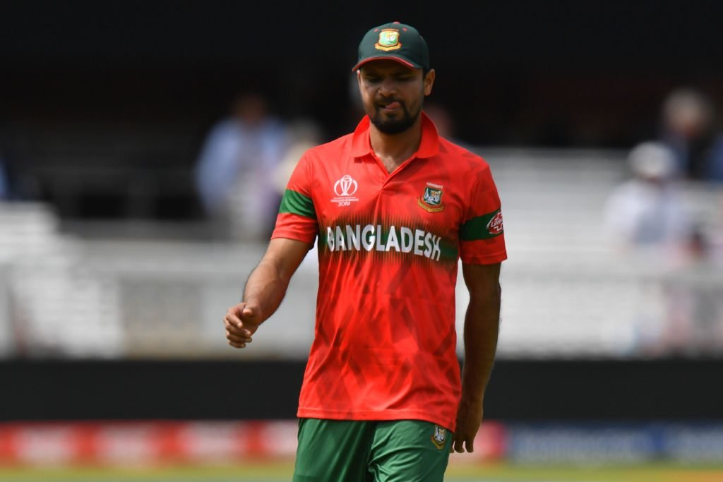 Shakib blamed Mortaza for World Cup failure